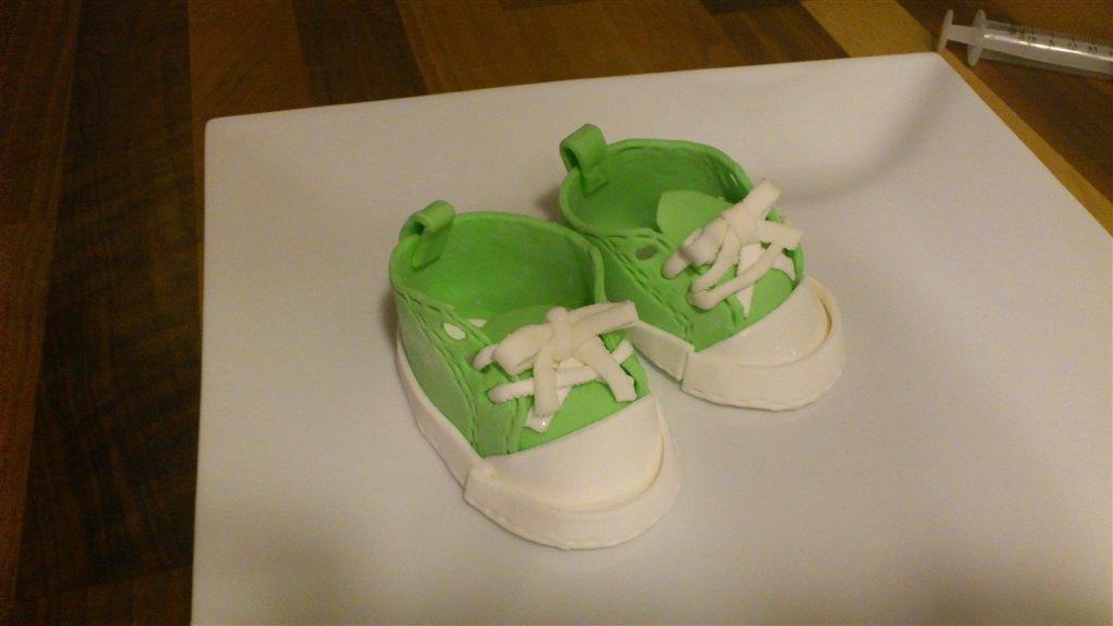mine første baby sko i mmf