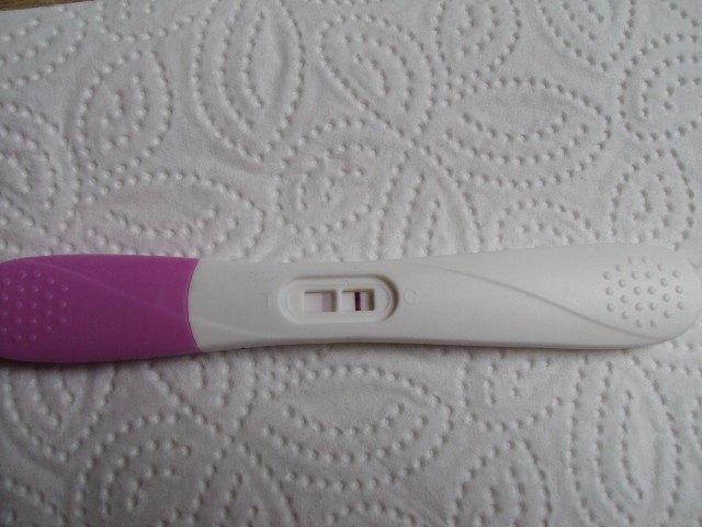 Vis din første positive graviditetstest