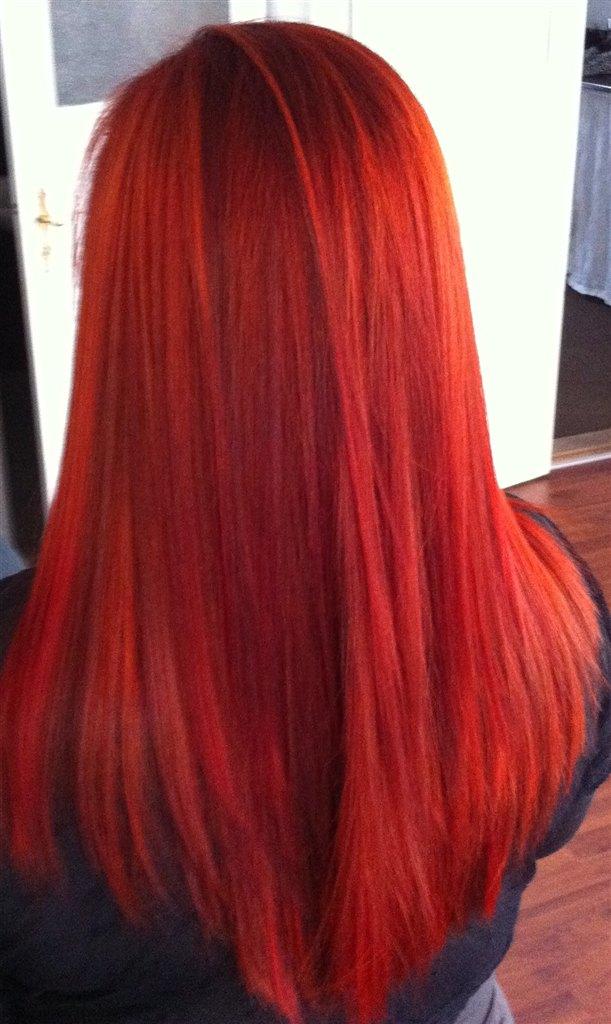 Henna hårfarve orange