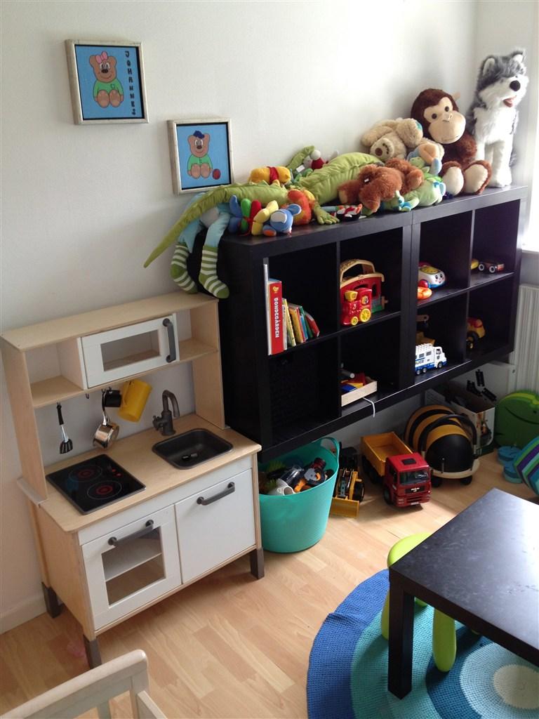 Børneværelse - opbevaring af tøj/legesager...