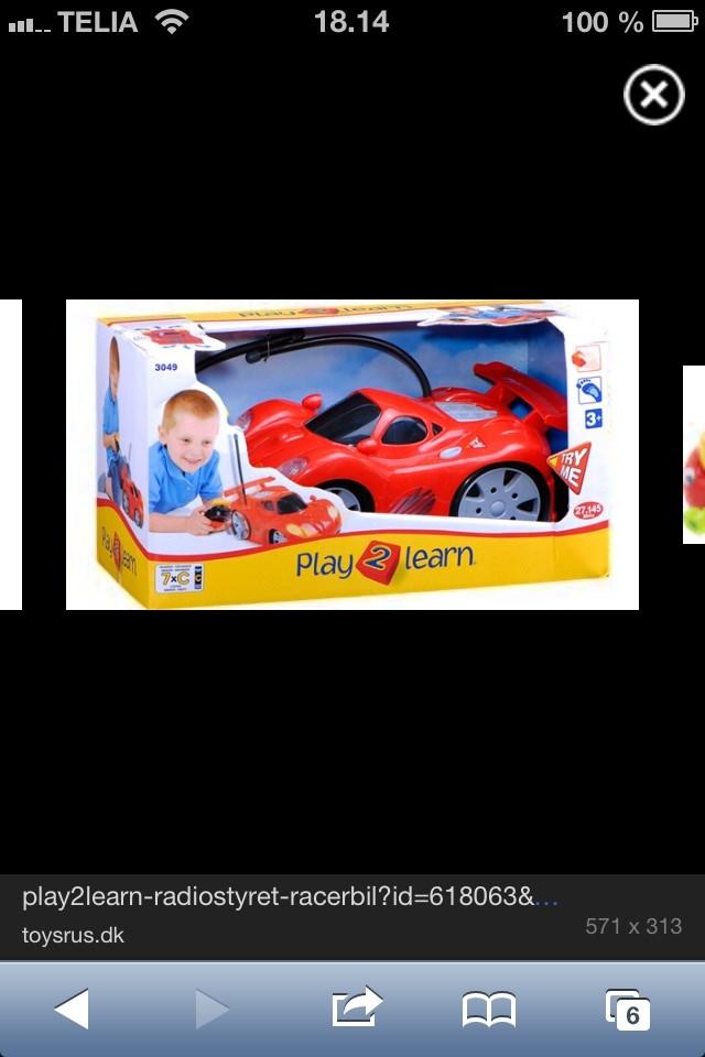 Fjernstyret bil toysrus