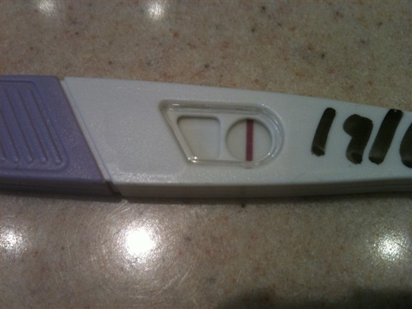 gravid test positiv