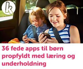 Børnefamilier anbefaler apps