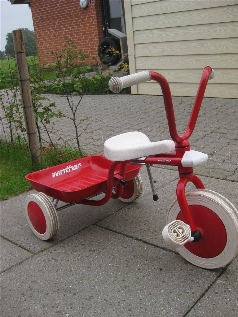 Winther 3-hjulet cykel rød