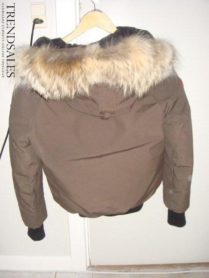 canada goose jakke brun