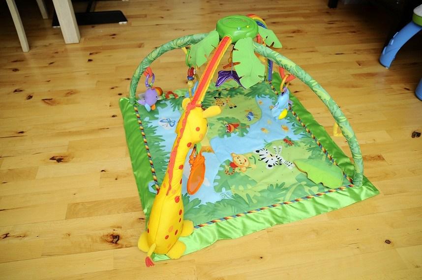 Populære Rainforest legetæppe og Skråstol fra Fisher Price GY-34