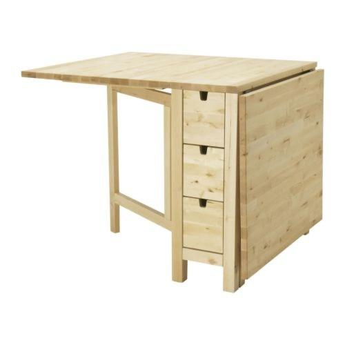 Norden klapbord/spisebord fra IKEA sælges