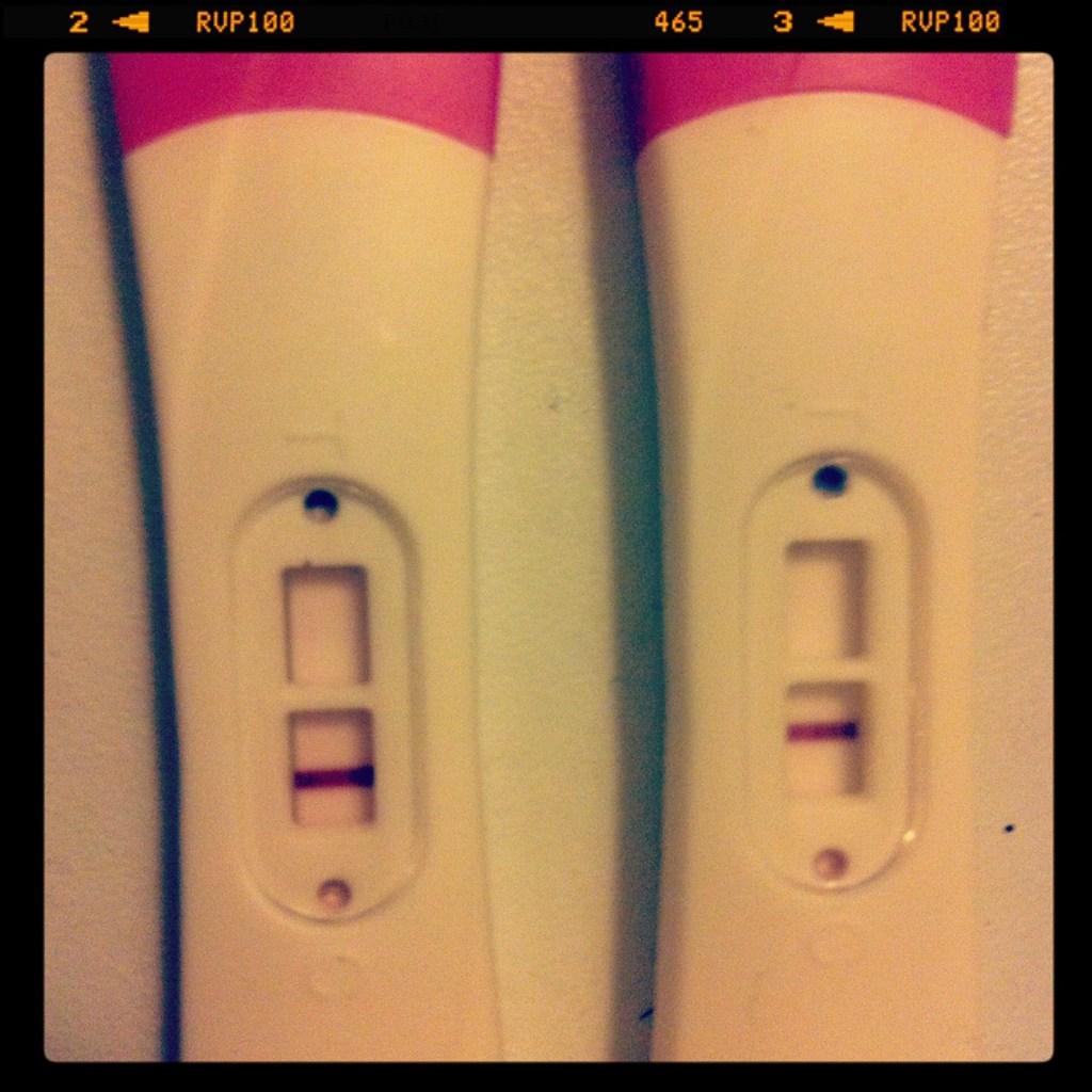 Kan man være gravid med negativ test
