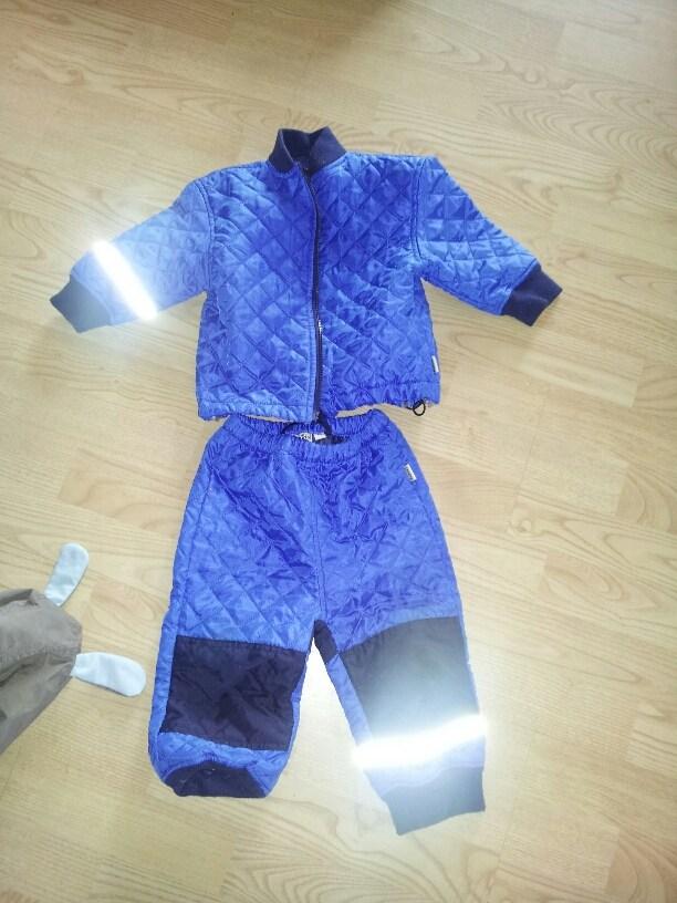 Tidssvarende 1-2 år: be kids termortøj og molo futter RX-99