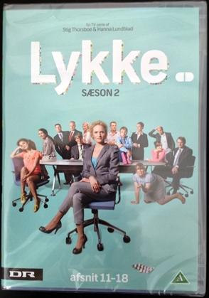 lykke sæson 1 og 2 dvd
