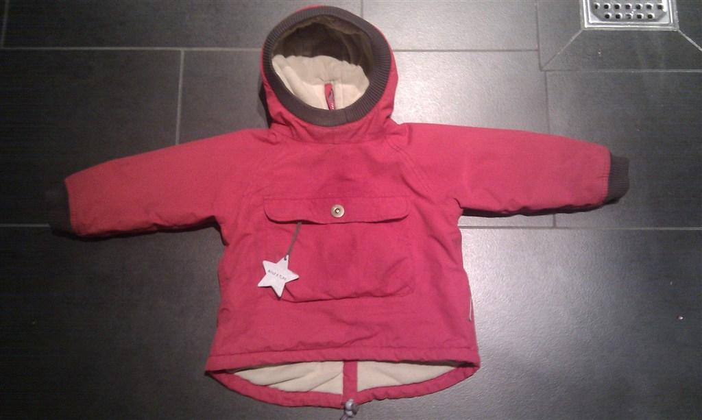 a2907e4f602 2-3 år: Brugt rød Miniature vinterjakke til salg - str 92.