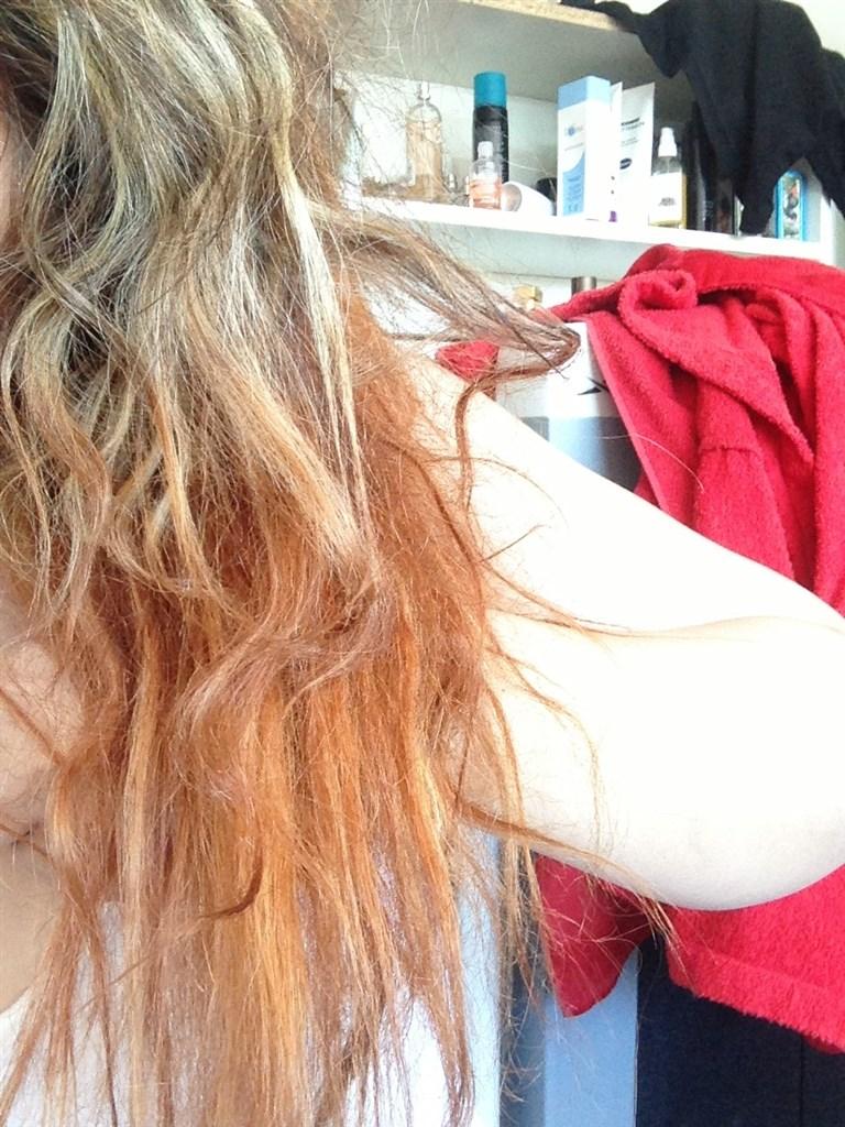 ødelagt hår efter afblegning