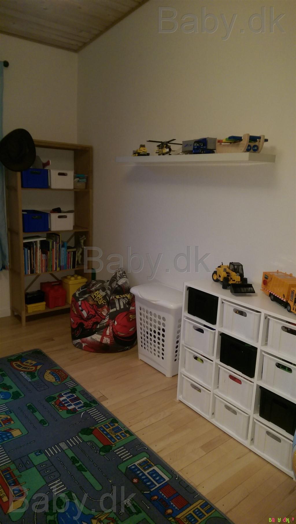 Avanceret TROFAST Vægopbevaring - lys fyr med hvid bejdse/hvid - IKEA ZC54