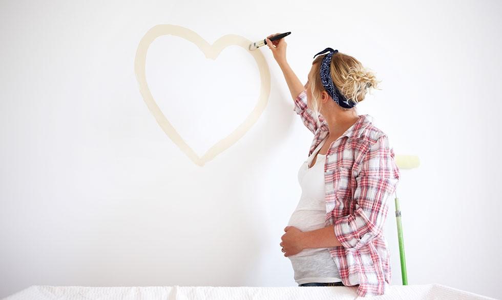 Myteknuser: Må du male, når du er gravid?