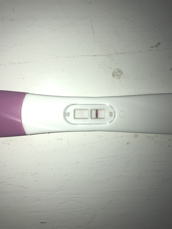 graviditetstest positivt eller negativt