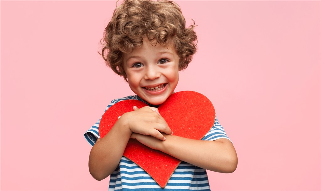 Valentinsdag i børnehøjde
