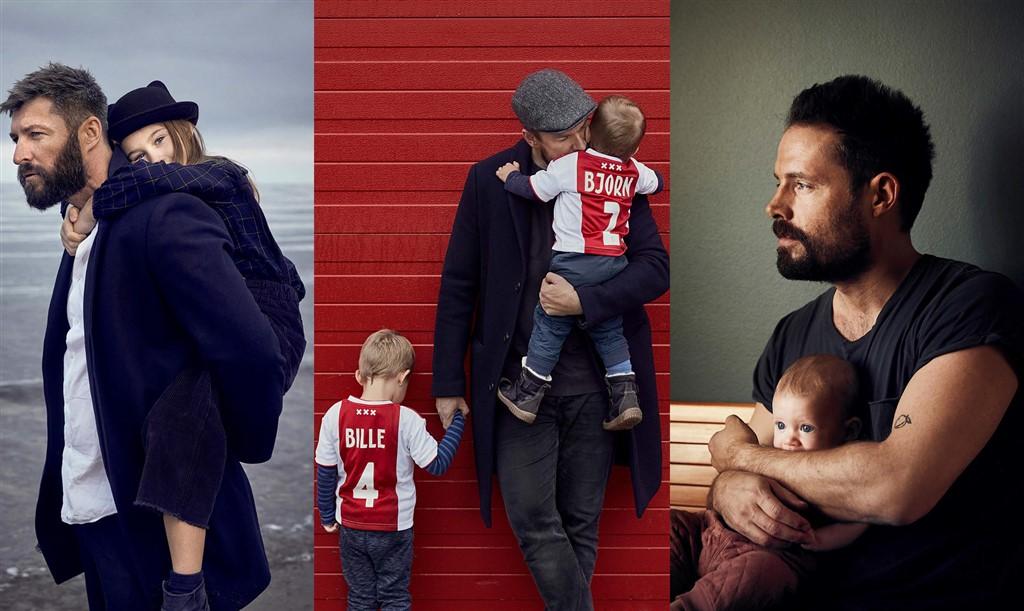 Tre fædre: Det bedste og hårdeste ved at være far