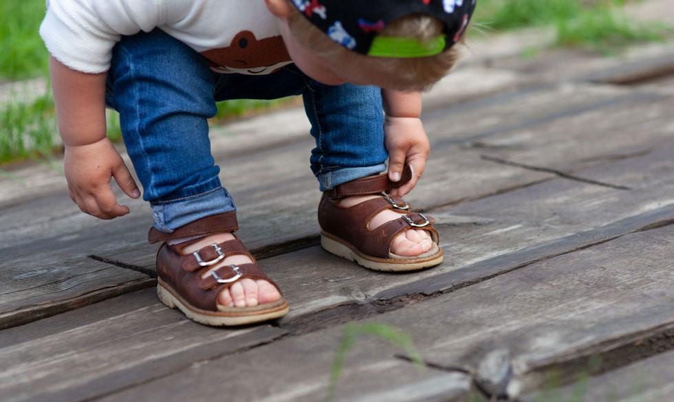 13 søde sandaler til de yngste