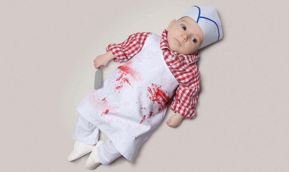 Kostumer til børn: Kække karriere-klædte babyer