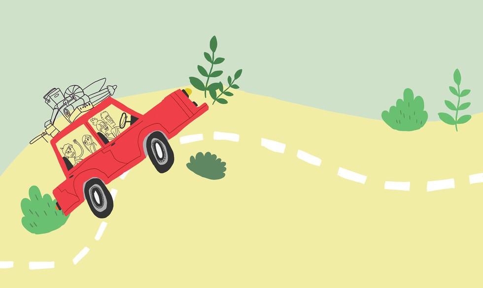 7 uundværlige tips til kør-selv-ferien med børn